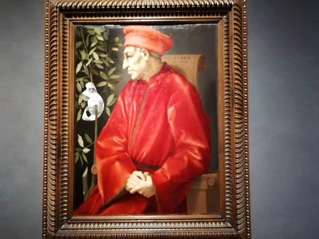 Cosimo the Elder, one of the important members of the Medici family