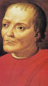 Giovanni di Bicci of the Medici family, the one who started to be banker and opened branches in all Europe.